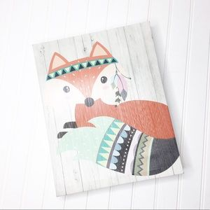 Other - Boho Fox Wall Hanging